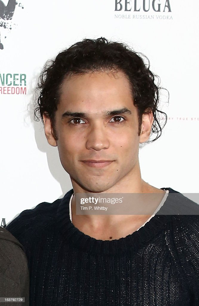 Reece Ritchie attends a photocall for 'Desert Dancer' at Sadler's Wells Theatre on October 9, 2012 in London, England.