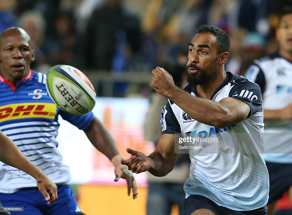 Reece Robinson of Waratahs during the Super Rugby match between DHL Stormers and Waratahs at DHL Newlands Stadium on April 30, 2016 in Cape Town, South Africa.