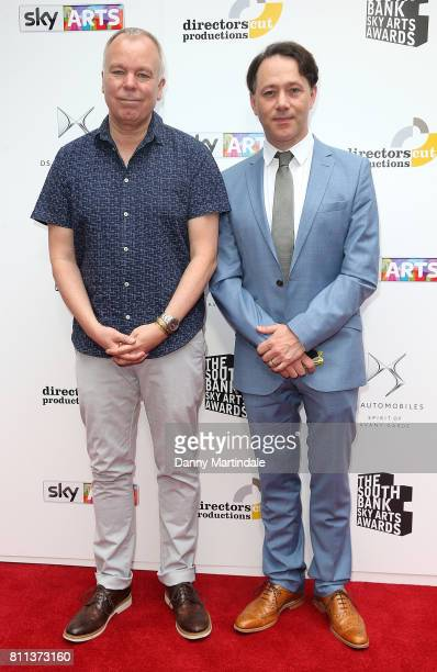 Reece Shearsmith and Steve Pemberton attending The Southbank Sky Arts Awards 2017 at The Savoy Hotel on July 9 2017 in London England