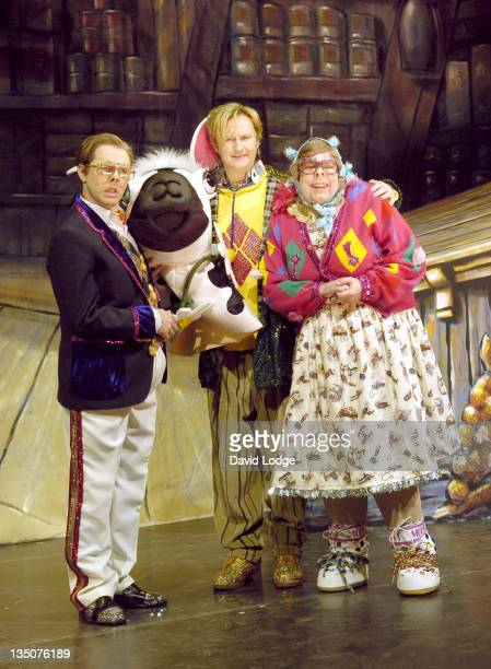 Reece Shearsmith Mark Gatiss and Steve Pemberton during The League of Gentlemen 'Are Behind You' Live Tour 2005 Press Photocall at Twickenham Film...