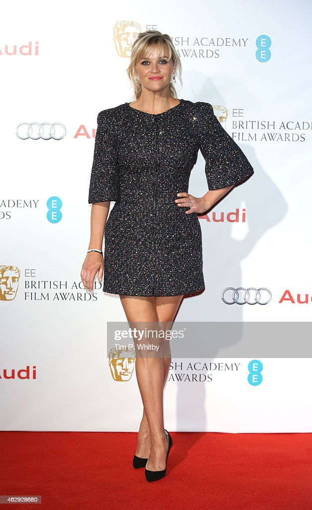 Reece Witherspoon attends the EE British Academy Awards nominees party at Kensington Palace on February 7 2015 in London England