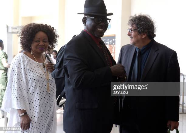 Reed Brody American lawyer with the International Commission of Jurists who has worked with the survivors of Hissene Habre's regime since 1999 arrive...