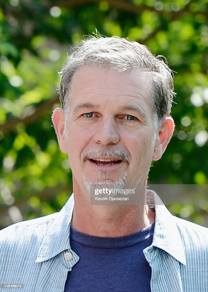 Reed Hastings, CEO of Netflix, attends the Allen & Company Sun Valley Conference on July 11, 2012 in Sun Valley, Idaho. The conference has been hosted annually by the investment firm Allen & Company since 1983 and is typically attended by many of the world's most powerful media executives.