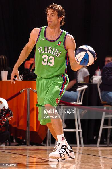 Reed Rawlings of the Florida Flame controls the ball against the Albuquerque Thunderbirds during the semifinals of the NBA Development League...
