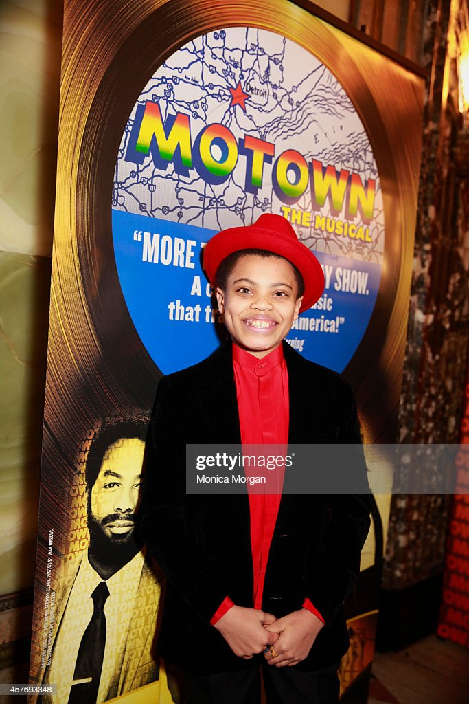 Reed Shannon attends the opening night of 'Motown The Musical' at The Fisher Theatre on October 22 2014 in Detroit Michigan