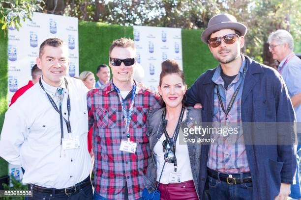 Reed Troutman Joey Paulk Kira Reed Lorsch and Lee Troutman attend the UCLA Operation Mend 10 Year Anniversary at the Home of Founder Ron Katz...