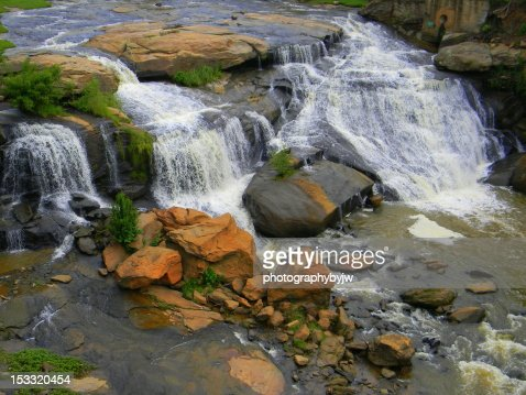 Reedy River waterfall