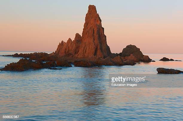 Reef of the Mermaids Cabo de GataNijar Natural Park Arrecife de las Sirenas Biosphere Reserve Almeria province Andalucia Spain