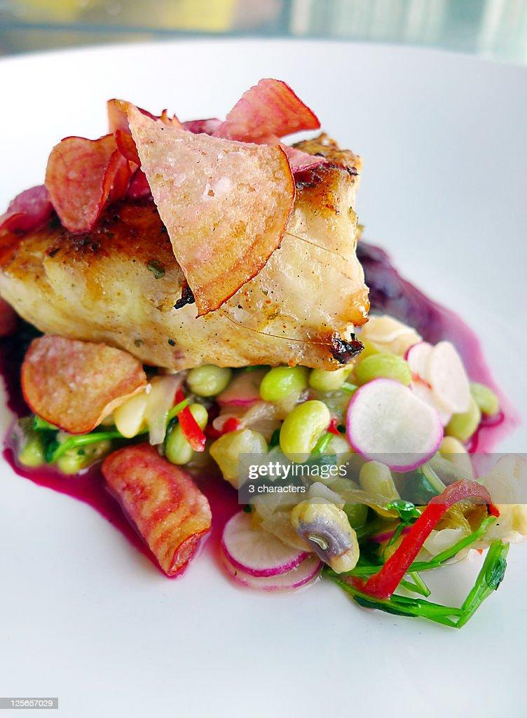 Reef restaurant  at Amberjack : Stock Photo