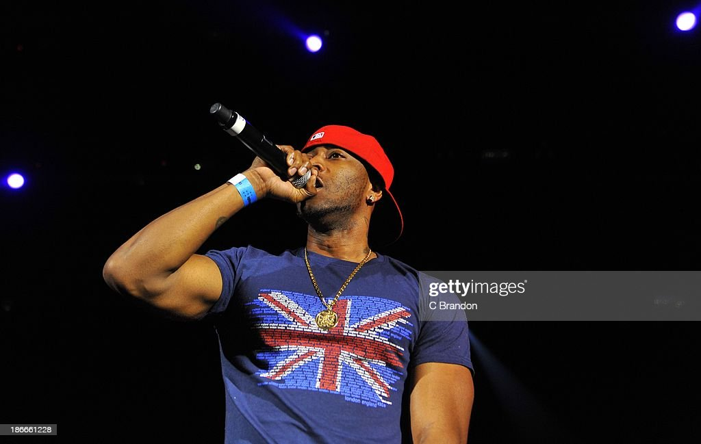 Reek da Villian performs on stage during the Superstars Of Hip Hop concert at Eventim Apollo, Hammersmith on November 2, 2013 in London, United Kingdom.