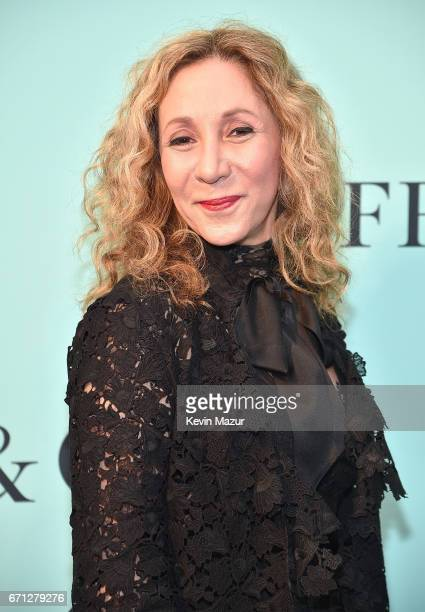 Reem Acra attends Tiffany Co Celebrates The 2017 Blue Book Collection at ST Ann's Warehouse on April 21 2017 in New York City