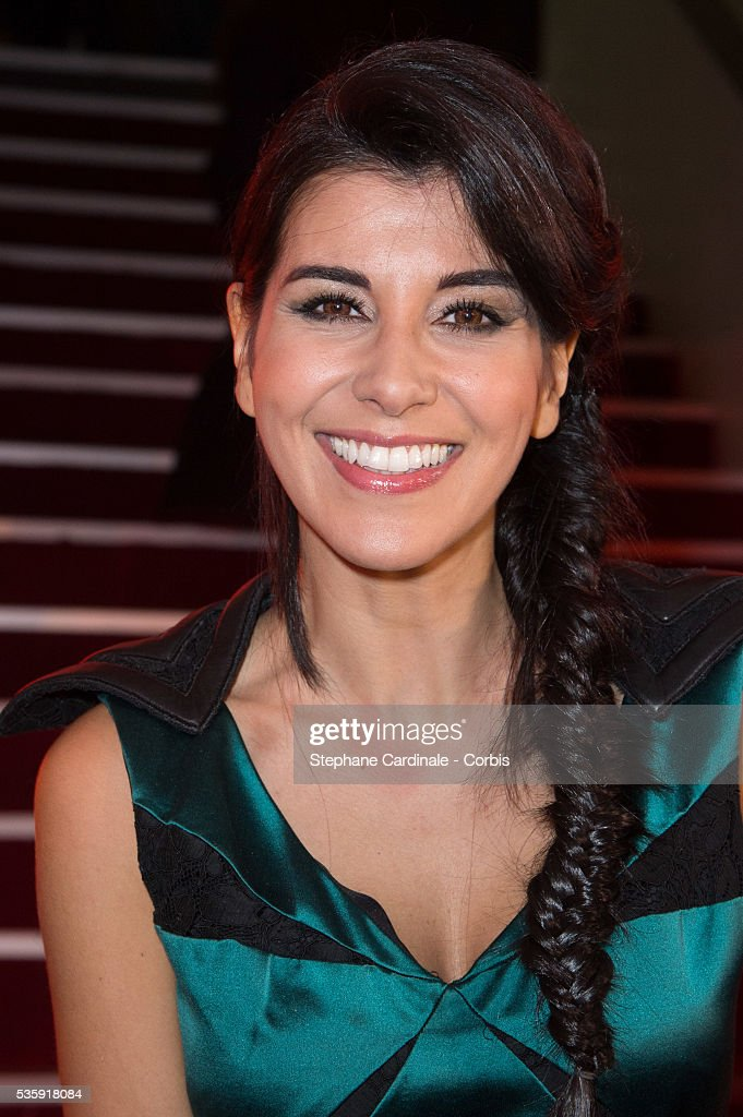 Reem Kherici attends 'Les Prix Lumieres 2014' Cinema Awards, in Paris.