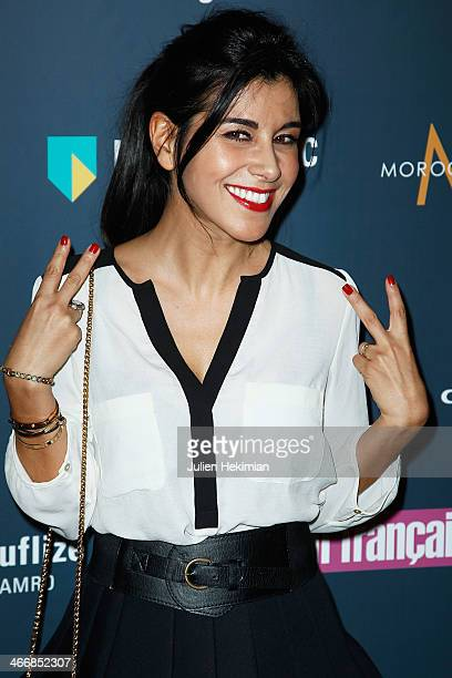 Reem Kherici attends the 'Trophees Du Film Francais' 21th Ceremony at Palais Brongniart on February 4 2014 in Paris France