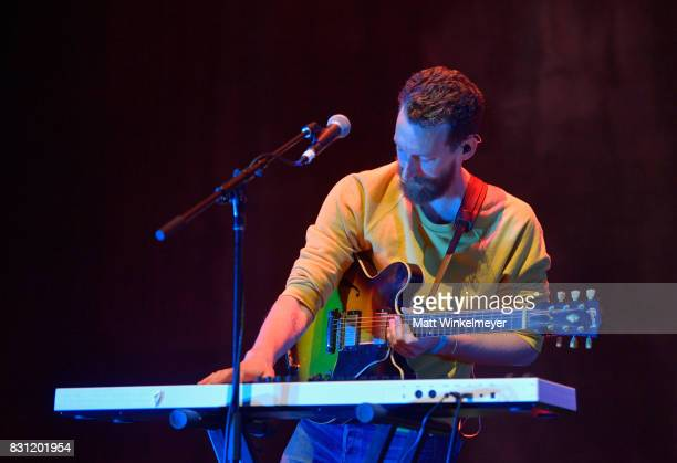 Reese Richardson of Electric Guest performs on stages 2017 Sundance NEXT FEST at The Theater at The Ace Hotel on August 13 2017 in Los Angeles...