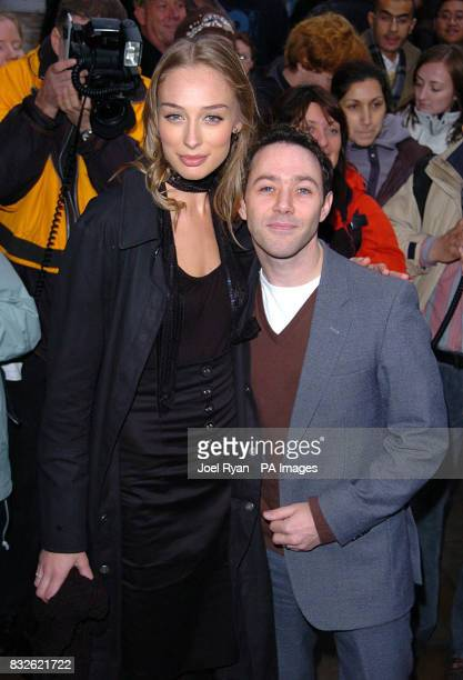 Reese Shearsmith from the League Of Gentlemen and his partner arrive at the Whatsonstagecom Theatregoers' Choice Awards held at Cafe de Paris central...