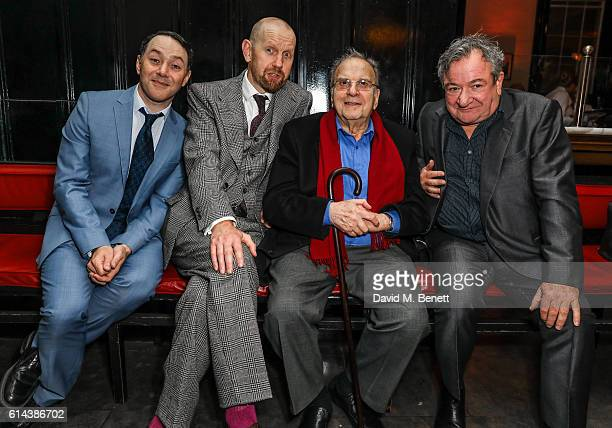 Reese Shearsmith Sean Foley Ronald Harwood And Ken Stott Attend The Press Night After Party For