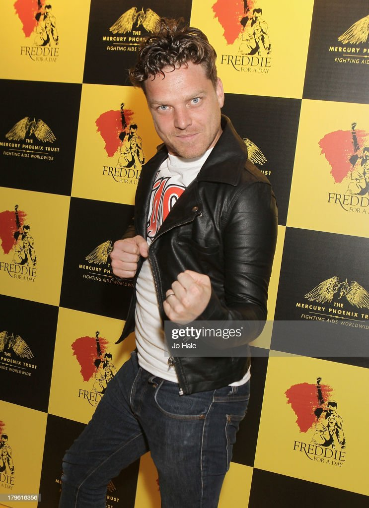 Reese Thomas attends the Freddie for a Day charity event in aid of The Mercury Phoenix Trust at The Savoy Hotel on September 5, 2013 in London, England.