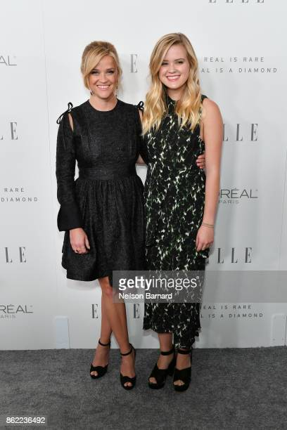 Reese Witherspoon and Ava Phillipe attend ELLE's 24th Annual Women in Hollywood Celebration presented by L'Oreal Paris Real Is Rare Real Is A Diamond...