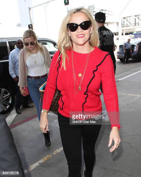 Reese Witherspoon and Eva Elizabeth Phillippe are seen on September 18 2017 in Los Angeles California