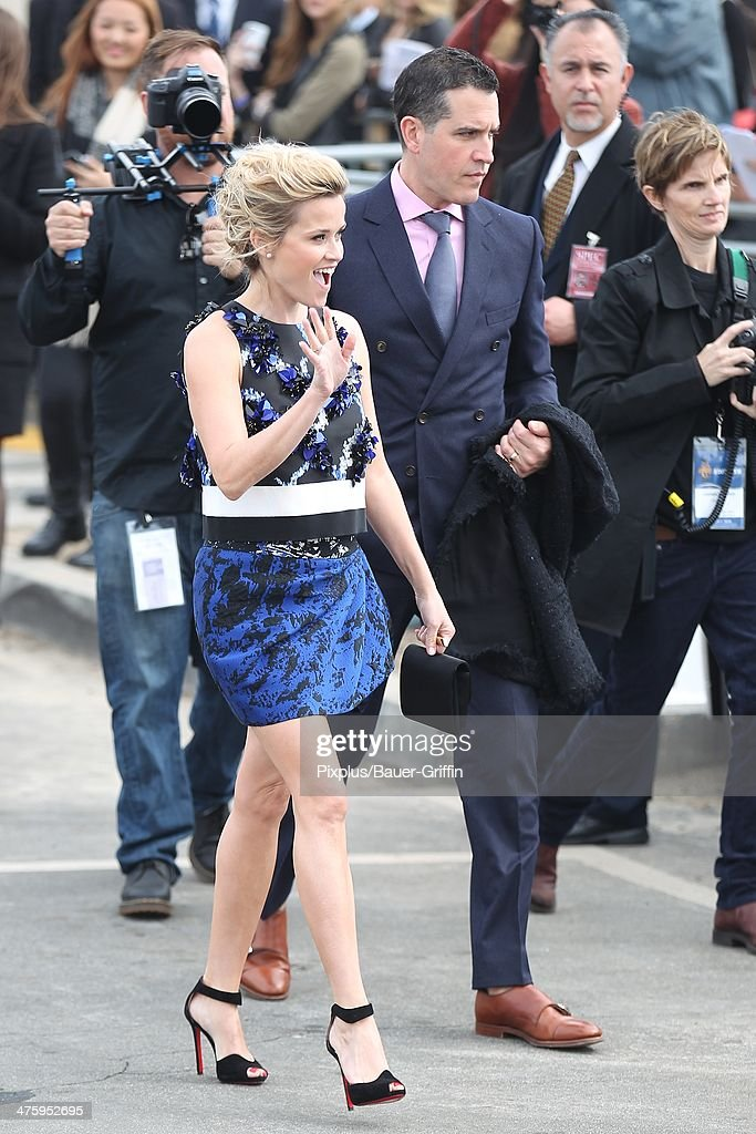 Reese Witherspoon and Jim Toth are seen arriving at the 2014 Film Independent Spirit Awards on March 01 2014 in Los Angeles California