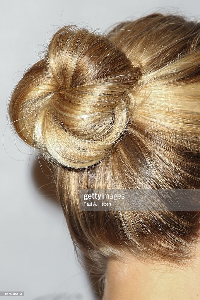 Reese Witherspoon (hair detail) arrives at the March Of Dimes' Celebration Of Babies held at the Beverly Hills Hotel on December 7, 2012 in Beverly Hills, California.