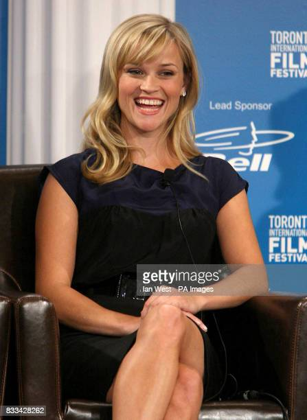 Reese Witherspoon attends a press conference for new film Rendition part of the Toronto Film Festival at the Sutton Hotel in Toronto Canada Picture...