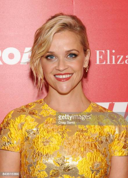 Reese Witherspoon attends a screening of Open Road Films' 'Home Again' hosted by The Cinema Society Lindt Chocolate on September 6 2017 in New York...