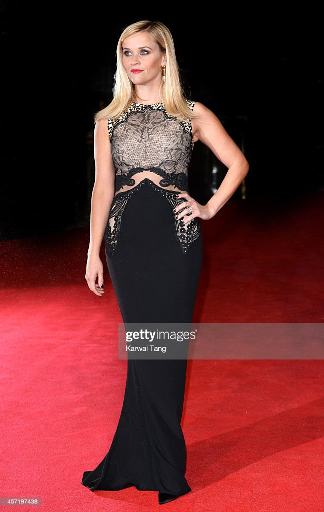 Reese Witherspoon attends a screening of 'Wild' during the 58th BFI London Film Festival at Odeon Leicester Square on October 13 2014 in London...