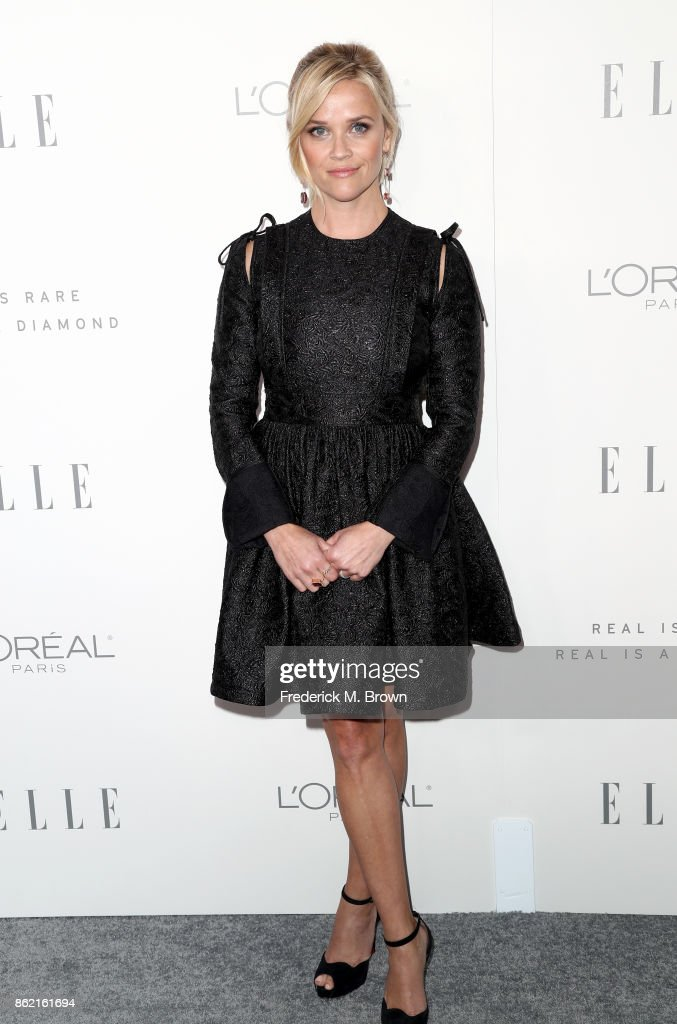Reese Witherspoon attends ELLE's 24th Annual Women in Hollywood Celebration at Four Seasons Hotel Los Angeles at Beverly Hills on October 16, 2017 in Los Angeles, California.