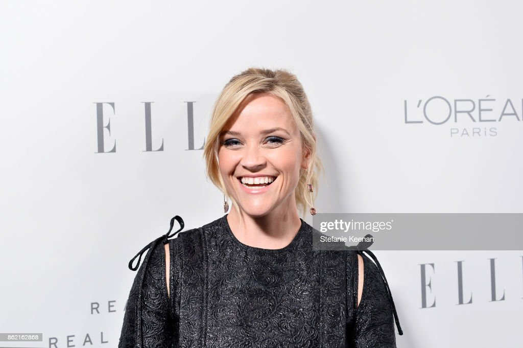Reese Witherspoon attends ELLE's 24th Annual Women in Hollywood Celebration presented by L'Oreal Paris, Real Is Rare, Real Is A Diamond and CALVIN KLEIN at Four Seasons Hotel Los Angeles at Beverly Hills on October 16, 2017 in Los Angeles, California.