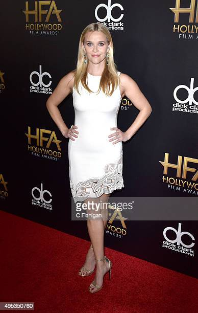 Reese Witherspoon attends the 19th Annual Hollywood Film Awards at The Beverly Hilton Hotel on November 1 2015 in Beverly Hills California