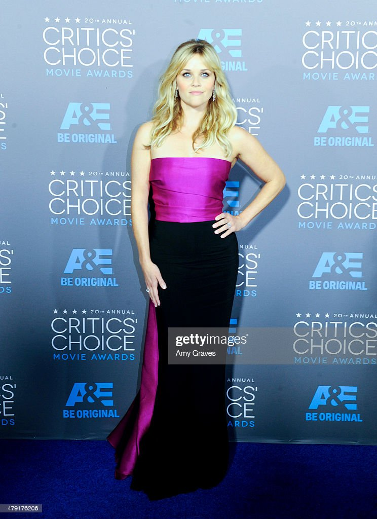 Reese Witherspoon attends the 20th Annual Critics' Choice Movie Awards on January 15, 2015 in Los Angeles, California.