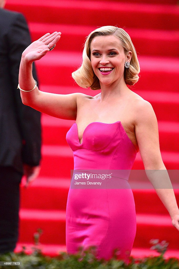 Reese Witherspoon attends the 'Charles James: Beyond Fashion' Costume Institute Gala at the Metropolitan Museum of Art on May 5, 2014 in New York City.