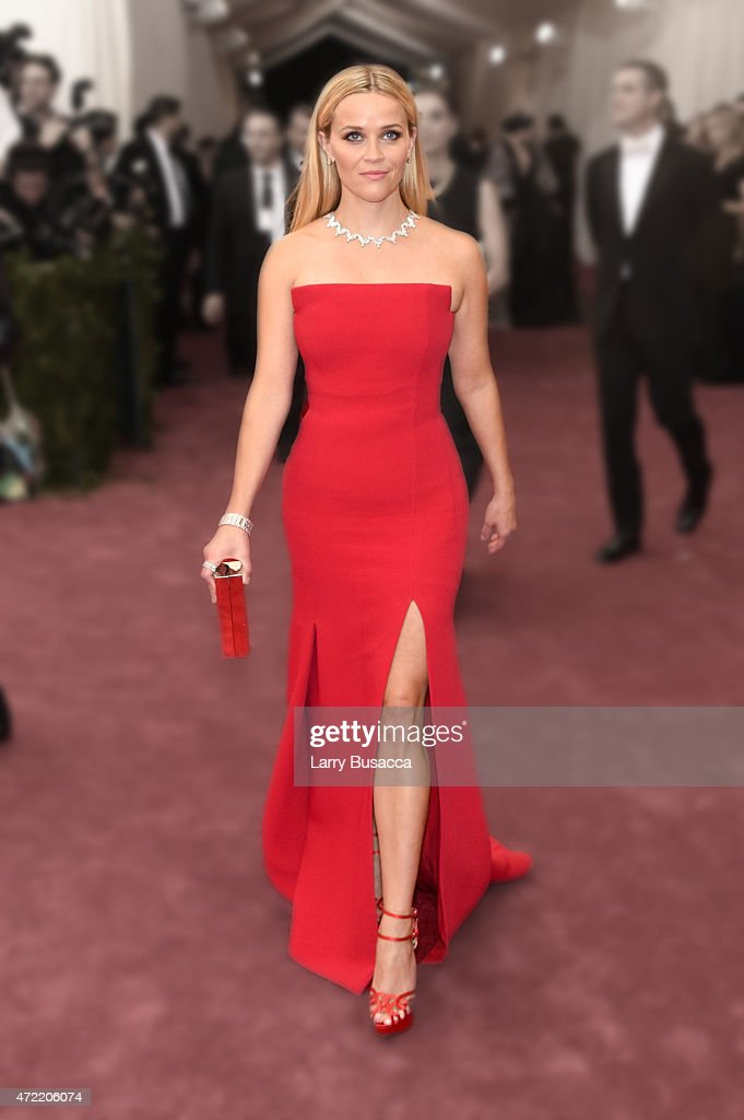<a gi-track='captionPersonalityLinkClicked' href=/galleries/search?phrase=Reese+Witherspoon&family=editorial&specificpeople=201577 ng-click='$event.stopPropagation()'>Reese Witherspoon</a> attends the 'China: Through The Looking Glass' Costume Institute Benefit Gala at the Metropolitan Museum of Art on May 4, 2015 in New York City.
