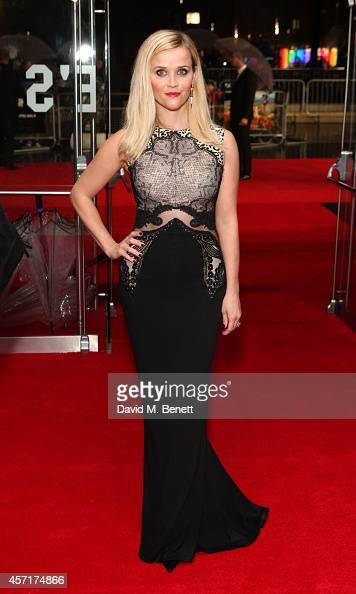 Reese Witherspoon attends The May Fair Hotel Gala Screening of 'Wild' during the 58th BFI London Film Festival at Odeon Leicester Square on October...