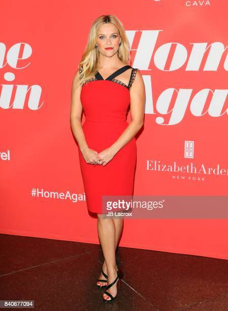 Reese Witherspoon attends the premiere of Open Road Films' 'Home Again' on August 29 2017 in Los Angeles California