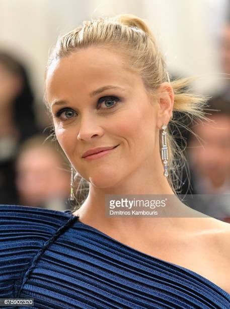 Reese Witherspoon attends the 'Rei Kawakubo/Comme des Garcons Art Of The InBetween' Costume Institute Gala at Metropolitan Museum of Art on May 1...