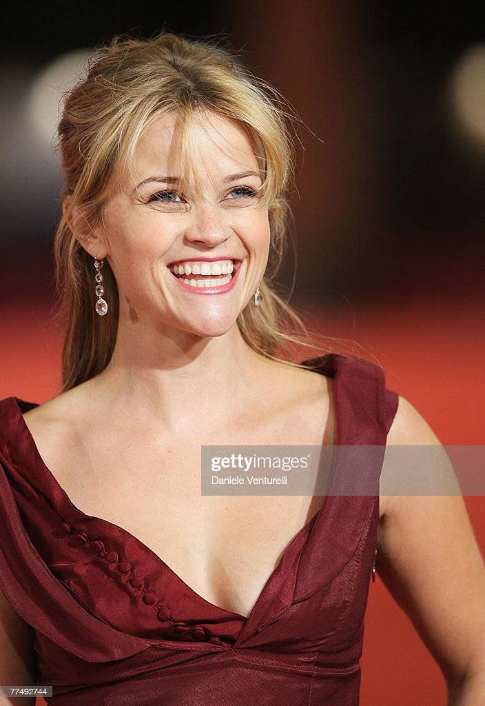 Reese Witherspoon attends the 'Rendition' premiere during Day 4 of the 2nd Rome Film Festival on October 21 2007 in Rome Italy