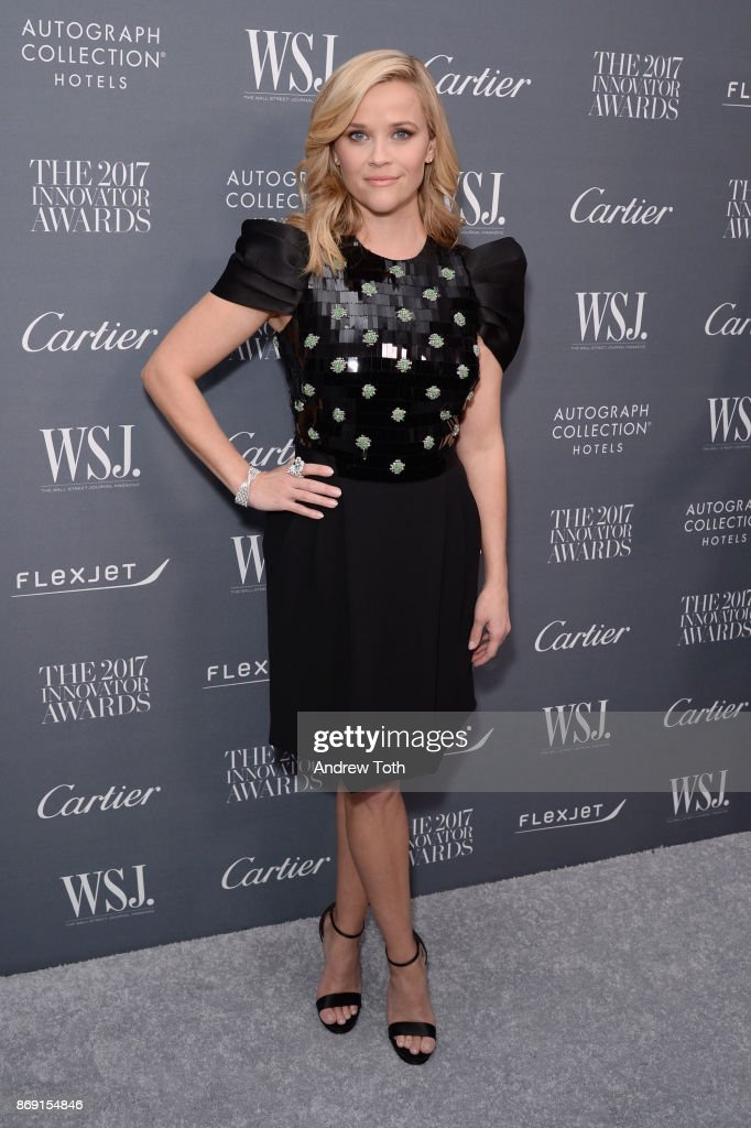Reese Witherspoon attends the WSJ. Magazine 2017 Innovator Awards at MOMA on November 1, 2017 in New York City.