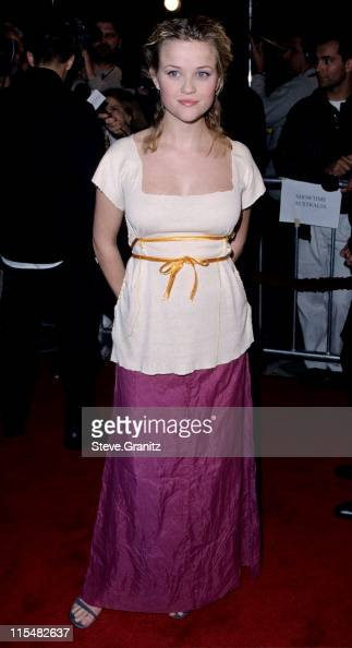 Reese Witherspoon during Cruel Intentions Premiere at Mann Village Theatre in Westwood California United States
