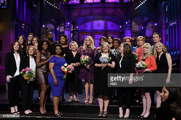 LIVE 'Reese Witherspoon' Episode 1682 Pictured Vanessa Bayer Pete Davidson Kyle Mooney Sasheer Zamata Jay Pharoah Betty Reese Reese Witherspoon...
