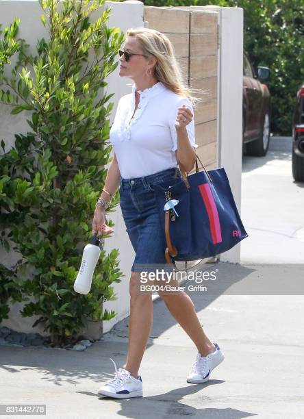 Reese Witherspoon is seen on August 14 2017 in Los Angeles California