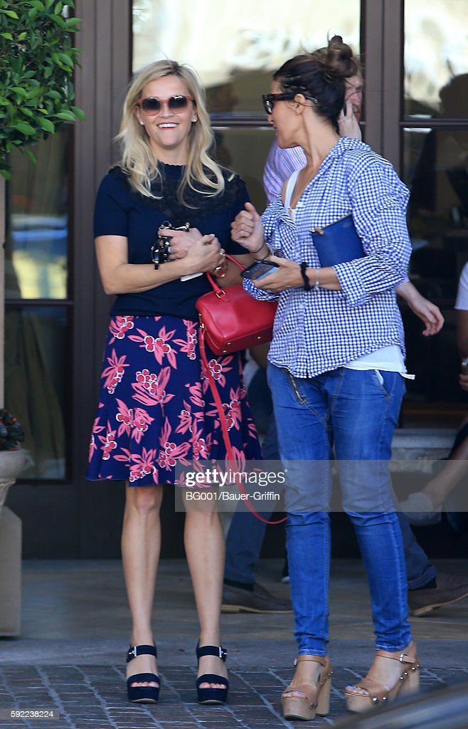 Reese Witherspoon is seen on August 19 2016 in Los Angeles California