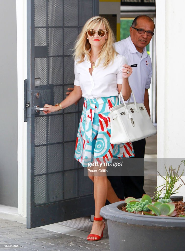 <a gi-track='captionPersonalityLinkClicked' href=/galleries/search?phrase=Reese+Witherspoon&family=editorial&specificpeople=201577 ng-click='$event.stopPropagation()'>Reese Witherspoon</a> is seen on August 21, 2014 in Los Angeles, California.