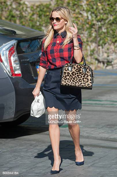 Reese Witherspoon is seen on December 07 2015 in Los Angeles California