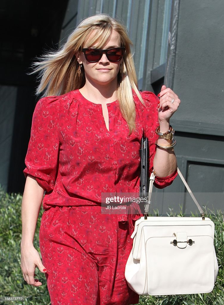 Reese Witherspoon is seen on December 13, 2012 in Los Angeles, California.