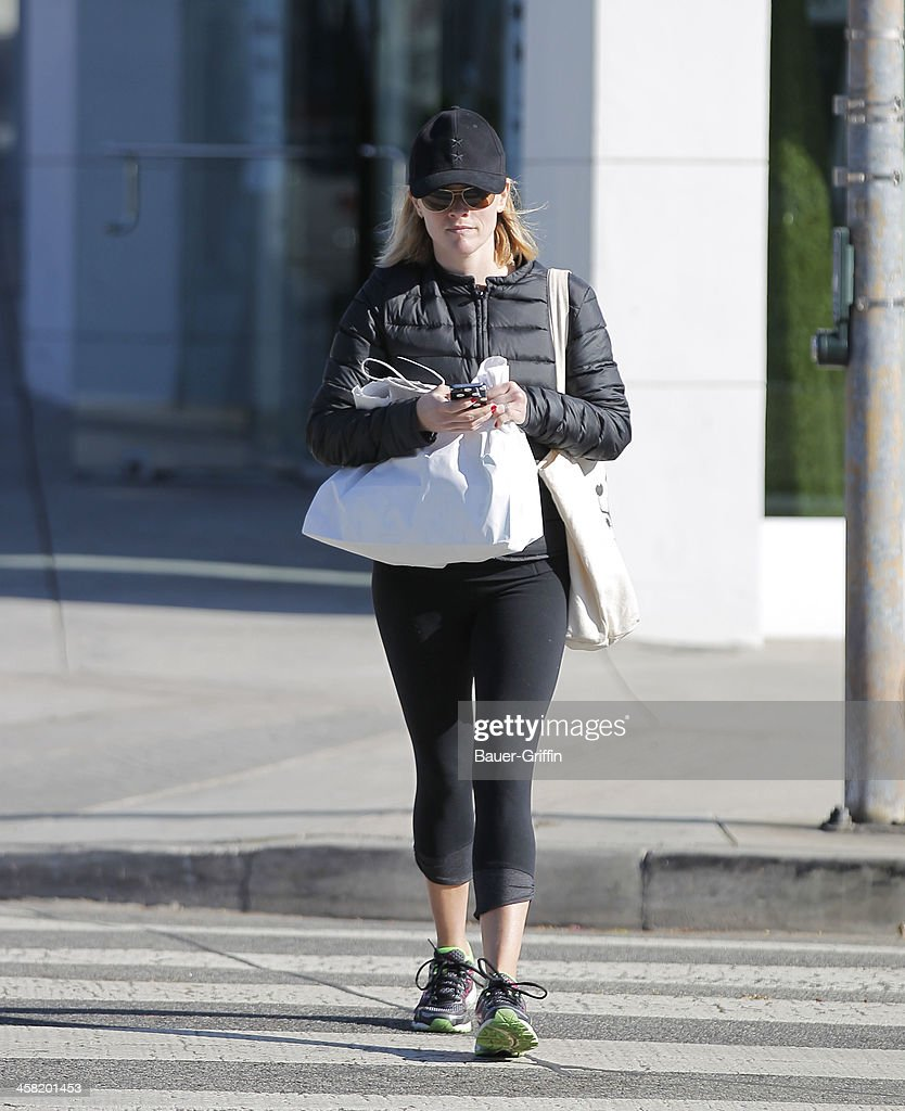 Reese Witherspoon is seen on December 20, 2013 in Los Angeles, California.