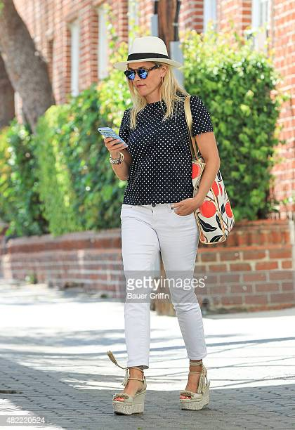 Reese Witherspoon is seen on July 28 2015 in Los Angeles California