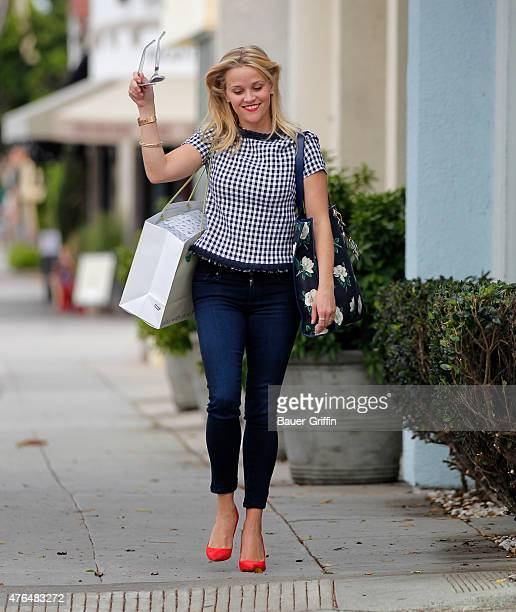 Reese Witherspoon is seen on June 09 2015 in Los Angeles California