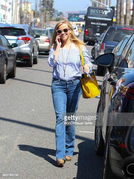 Reese Witherspoon is seen on March 13 2017 in Los Angeles California